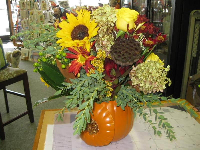 October arrangement