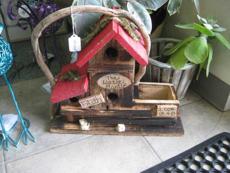 Hand-built NC Bird House